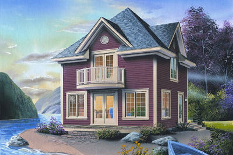 European Exterior - Front Elevation Plan #23-848 - Houseplans.com