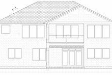 House Plan Design - Mediterranean Exterior - Rear Elevation Plan #126-211