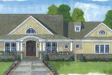 Architectural House Design - Craftsman Exterior - Front Elevation Plan #46-822