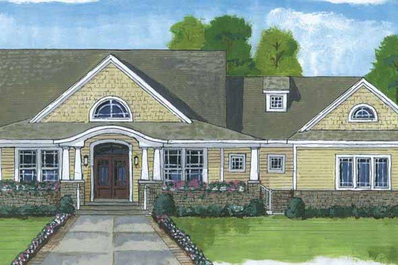 House Plan Design - Craftsman Exterior - Front Elevation Plan #46-822