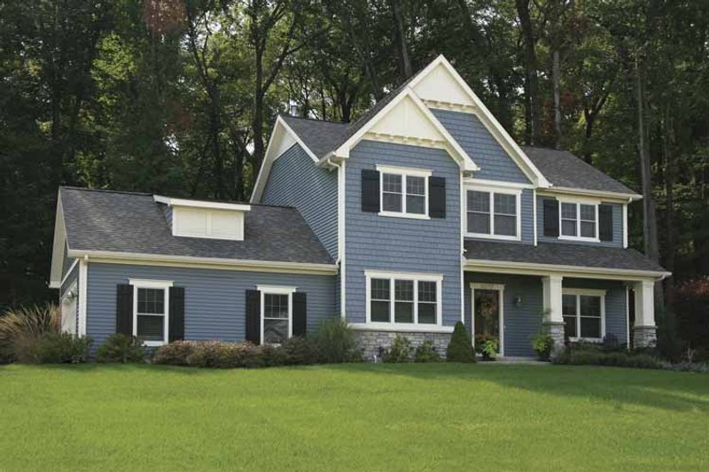 Country Exterior - Front Elevation Plan #928-127 - Houseplans.com