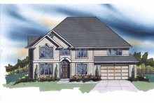Home Plan - Traditional Exterior - Front Elevation Plan #509-380