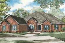 Architectural House Design - Traditional Exterior - Front Elevation Plan #17-3265