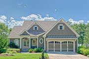 Cottage Style House Plan - 3 Beds 3.5 Baths 2156 Sq/Ft Plan #437-107 Exterior - Front Elevation