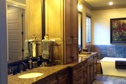 European Style House Plan - 4 Beds 3.5 Baths 2470 Sq/Ft Plan #17-2560