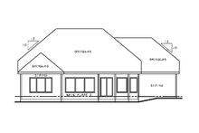 Dream House Plan - European Exterior - Rear Elevation Plan #20-2145
