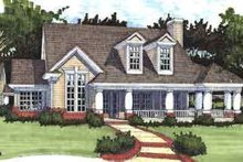 Country Exterior - Front Elevation Plan #120-147