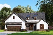 Architectural House Design - Craftsman Exterior - Front Elevation Plan #923-159