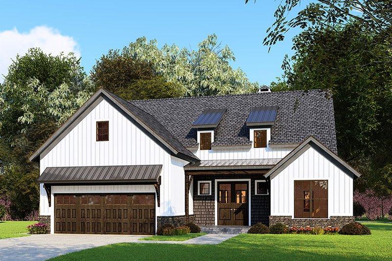 House Plan Design - Craftsman Exterior - Front Elevation Plan #923-159