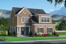 House Plan Design - Traditional Exterior - Front Elevation Plan #20-2346