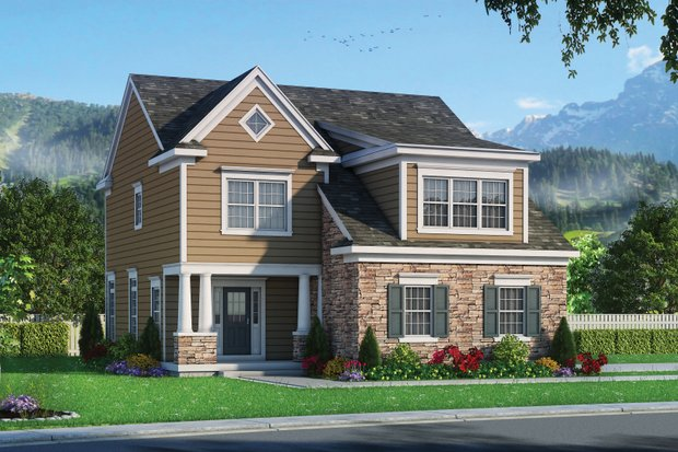 Traditional Exterior - Front Elevation Plan #20-2346