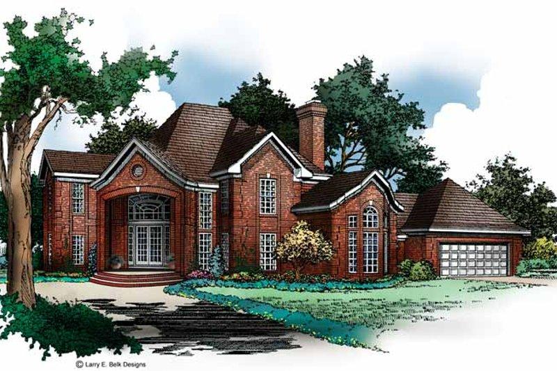 Home Plan - European Exterior - Front Elevation Plan #952-171