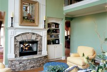 Country Interior - Family Room Plan #927-654