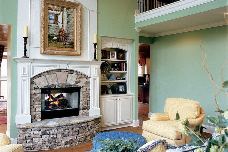 Country Interior - Family Room Plan #927-654 - Houseplans.com