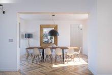 Modern Interior - Dining Room Plan #1076-1