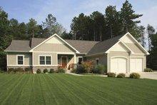 Architectural House Design - Craftsman Exterior - Front Elevation Plan #928-152