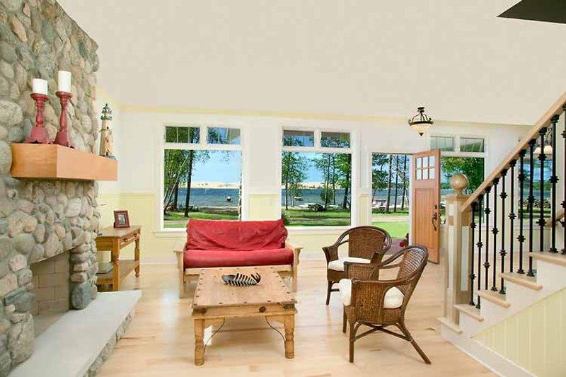 Craftsman Interior - Family Room Plan #928-90 - Houseplans.com