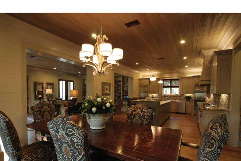Bungalow Interior - Dining Room Plan #37-278 - Houseplans.com