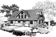 Traditional Style House Plan - 4 Beds 3 Baths 2352 Sq/Ft Plan #303-116 Exterior - Front Elevation