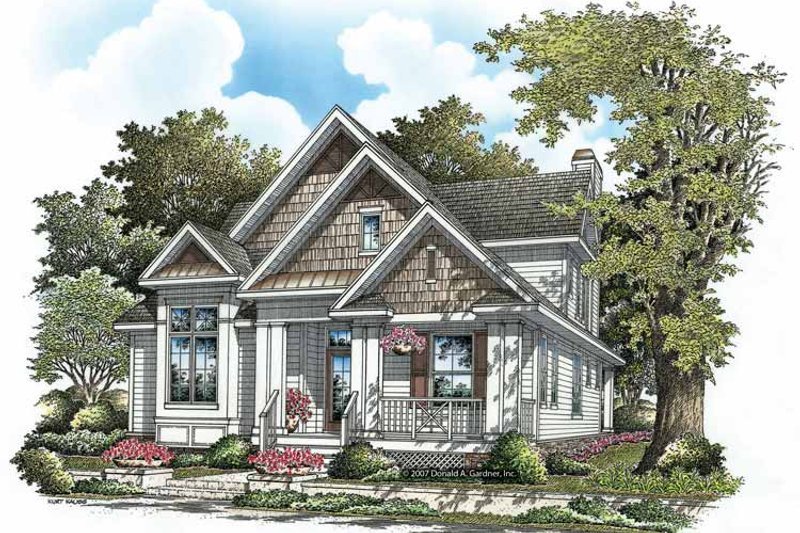Craftsman Exterior - Front Elevation Plan #929-837 - Houseplans.com