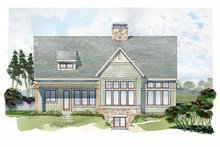 Craftsman Exterior - Rear Elevation Plan #928-230
