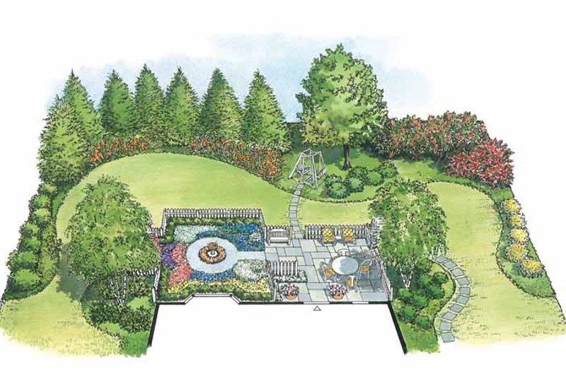 Exterior - Front Elevation Plan #1040-51 - Houseplans.com
