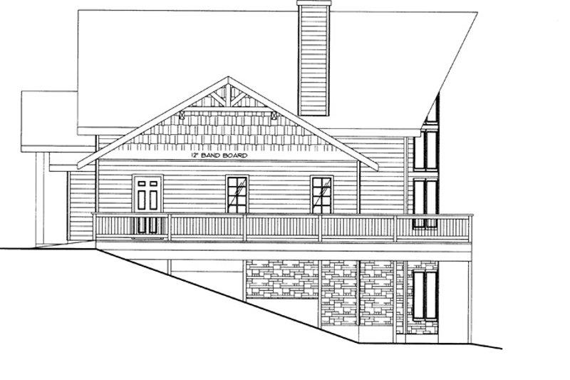 Craftsman Exterior - Other Elevation Plan #117-843 - Houseplans.com