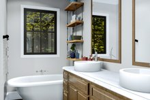 Cottage Interior - Master Bathroom Plan #406-9660