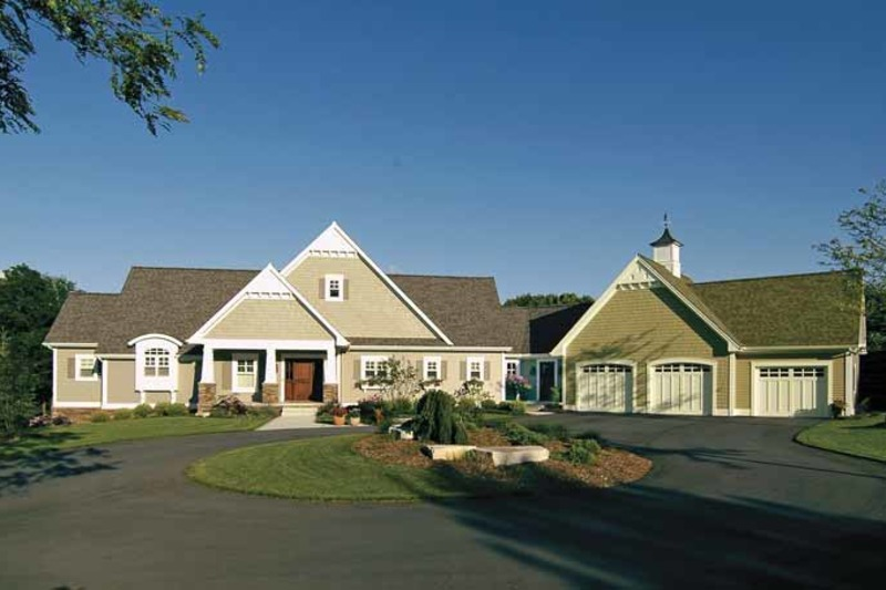 Craftsman Exterior - Front Elevation Plan #928-48 - Houseplans.com