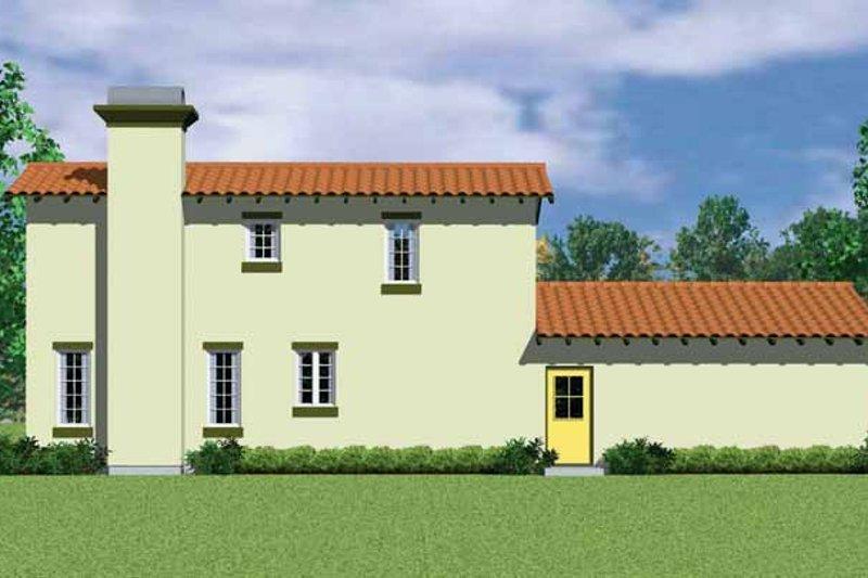 Adobe / Southwestern Exterior - Other Elevation Plan #72-1126 - Houseplans.com