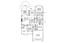 Ranch Floor Plan - Main Floor Plan Plan #929-991