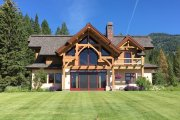Log Style House Plan - 3 Beds 3 Baths 3440 Sq/Ft Plan #451-27 Exterior - Rear Elevation