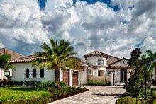 Home Plan - Mediterranean Exterior - Front Elevation Plan #930-444