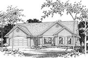 Traditional Style House Plan - 3 Beds 2 Baths 1895 Sq/Ft Plan #22-418 Photo