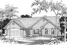 House Plan Design - Traditional Photo Plan #22-418