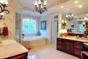 Classical Style House Plan - 4 Beds 4 Baths 4992 Sq/Ft Plan #137-113 Interior - Master Bathroom
