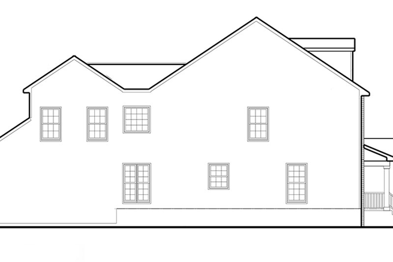 Colonial Exterior - Other Elevation Plan #1053-73 - Houseplans.com