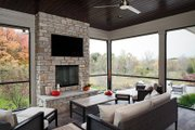 Contemporary Style House Plan - 4 Beds 3.5 Baths 4983 Sq/Ft Plan #928-287 Interior - Other