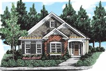 House Plan Design - Country Exterior - Front Elevation Plan #927-300