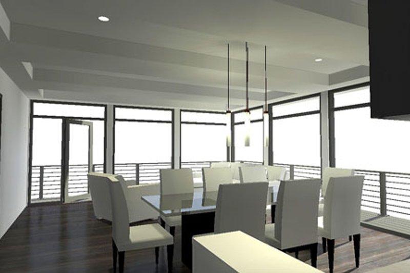 Contemporary Interior - Dining Room Plan #64-304 - Houseplans.com