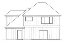 Country Exterior - Rear Elevation Plan #509-268