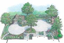 Exterior - Rear Elevation Plan #1040-98
