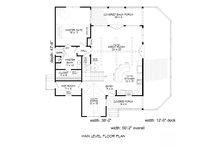 Country Floor Plan - Main Floor Plan Plan #932-9