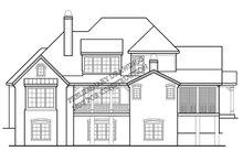 House Design - European Exterior - Rear Elevation Plan #927-426