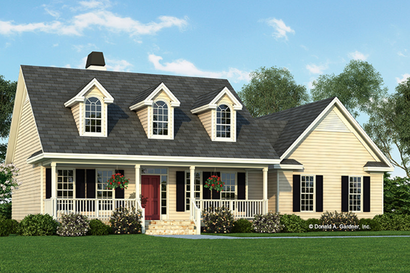 Country Exterior - Front Elevation Plan #929-222 - Houseplans.com