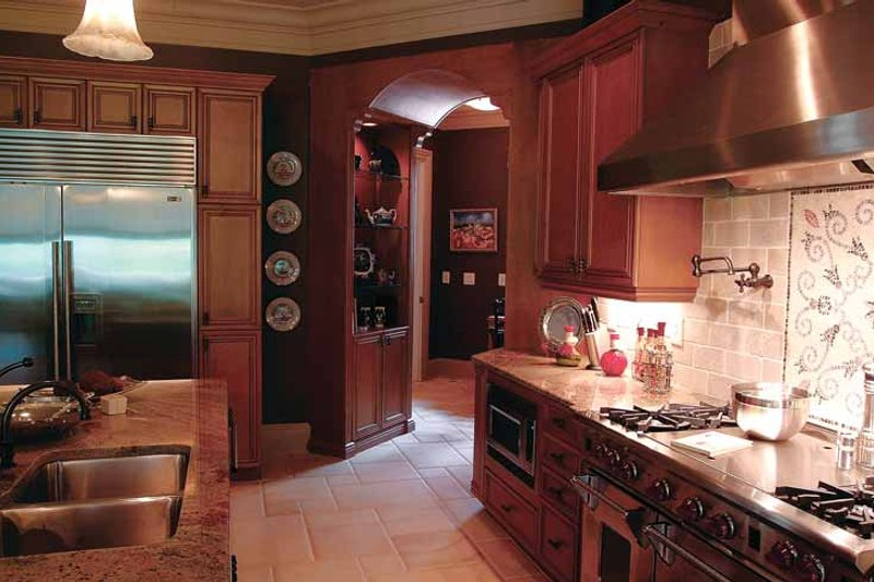 Country Interior - Kitchen Plan #453-403 - Houseplans.com