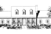 Southern Style House Plan - 3 Beds 2.5 Baths 1990 Sq/Ft Plan #3-160 Exterior - Other Elevation