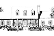 Home Plan - Southern Exterior - Other Elevation Plan #3-160