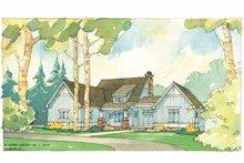 Architectural House Design - Craftsman Exterior - Front Elevation Plan #928-56
