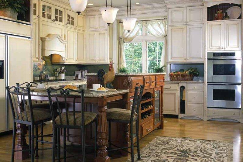 European Interior - Kitchen Plan #928-37 - Houseplans.com